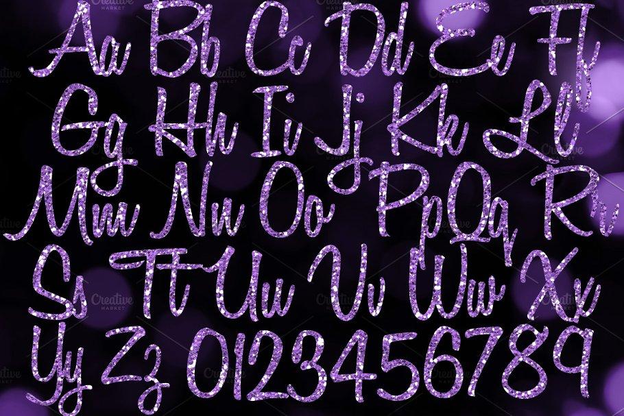 purple-glitter-alphabet-listing-2-cm-